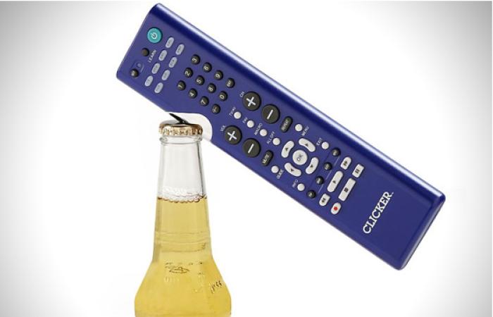 Clicker tv remote abrebotellas