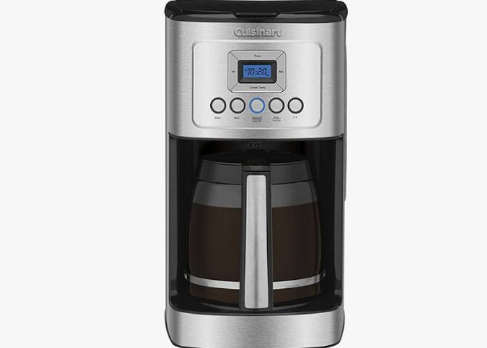 Cafetera Programable de 14 Tazas de Acero Inoxidable Cuisinart
