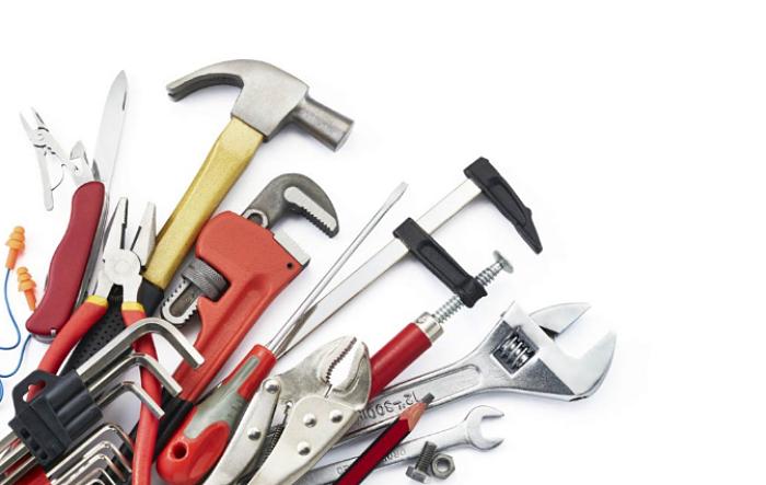 utensilios para el trabajo