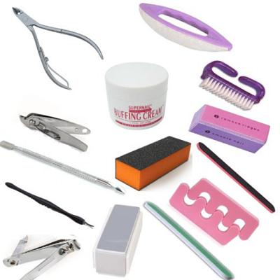utensilios para manicura y pedicura