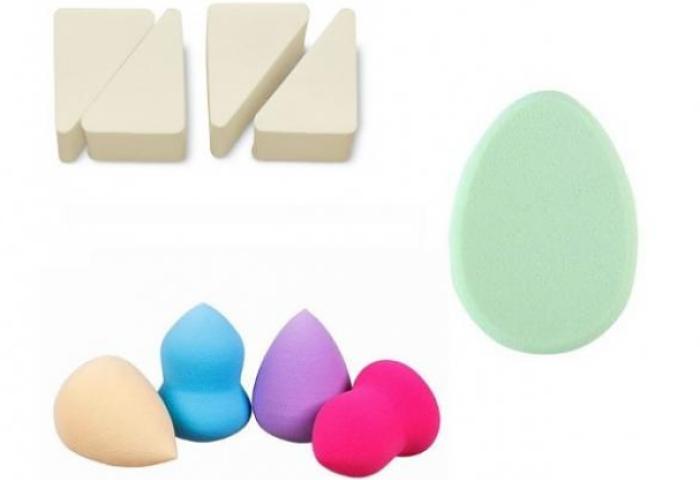 el tamaño de las esponjas de maquillaje