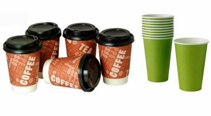 vasos desechables - taza de café de papel