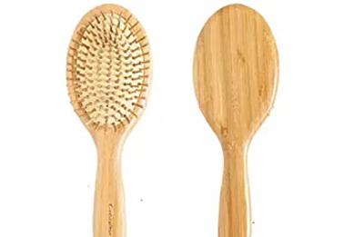 Cepillo de madera para el cabello- bambú