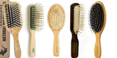Cepillos de madera para el cabello