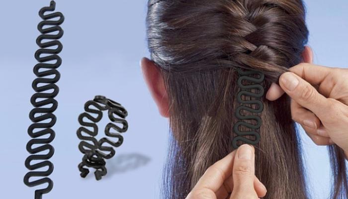 herramienta para trenzar el cabello