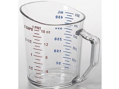 vasos o jarras medidoras