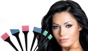 herramientas para pintar el cabello