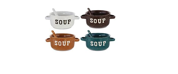 tazón de sopa