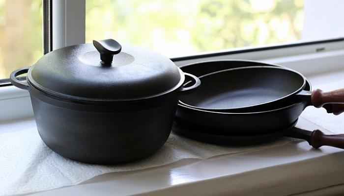 Beneficios de cocinar en sartenes y ollas de hierro fundido
