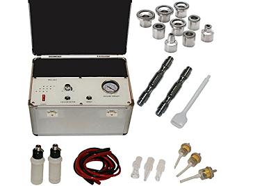 Máquina de belleza facial portátil 3 en 1 con microdermoabrasión y multifunción de diamante LCL
