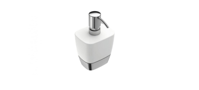 Dispensador de jabón para accesorios de baño