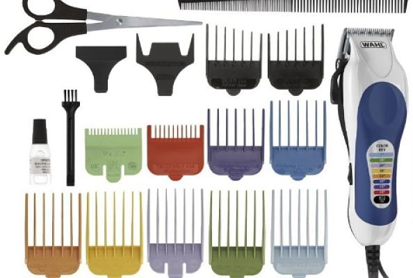 Maquina de afeitar: Wahl color pro kit completo de corte de pelo #79300-400T