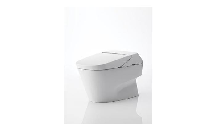 Toto MS992CUMFG#01 Neorest 1.0 GPF y 0.8 GPF 700H Inodoro de doble descarga, blanco algodón