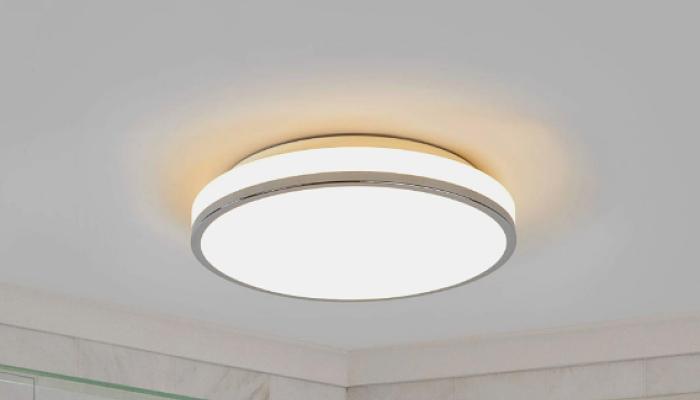 lámpara led de techo para baños