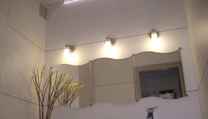5 beneficios de la iluminaci n del cuarto de ba o con - Iluminacion cuarto de bano ...