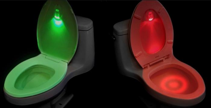 luz led para inodoro