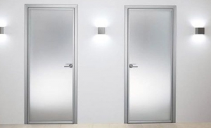 Puertas de baño de aluminio: