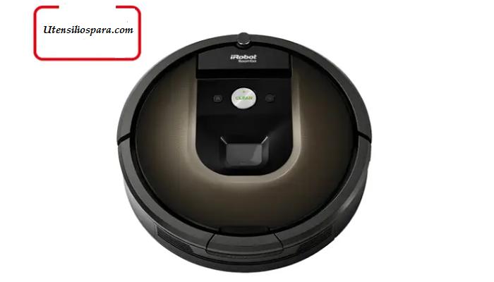 Aspirador robot iRobot Roomba 980, negro / marrón: